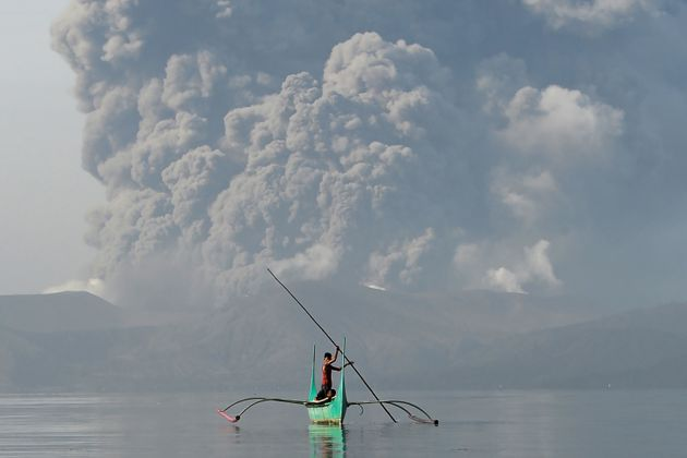 Philippines Volcano: Thousands Flee Their Homes As Lava Gushes From Taal Volcano