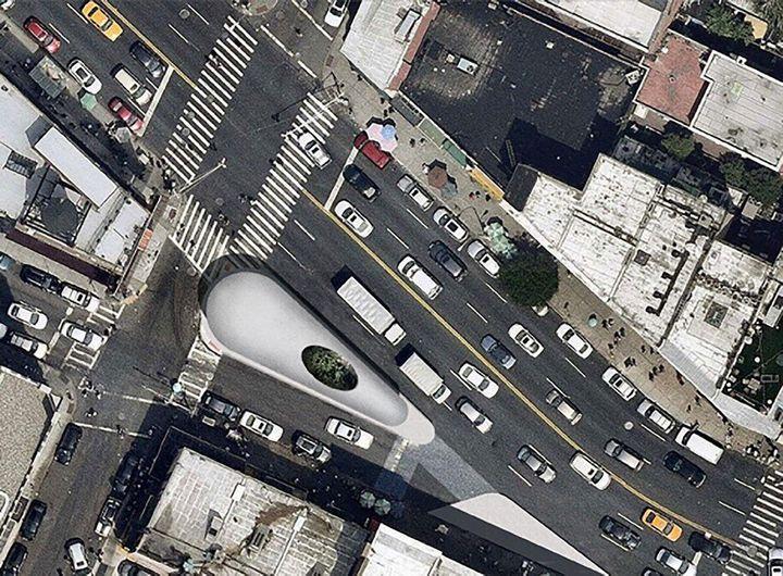 Beacons of Chinatown, στη Νέα Υόρκη