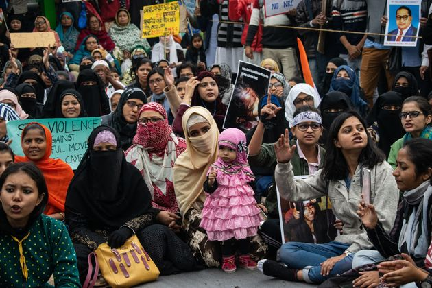 A group of women from Kolkata inspired by Delhi's Shaheen Bagh women's started a sit-in campaign at Park...