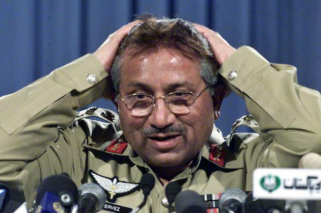 Pervez Musharraf, en una imagen de 2002, cuando aún ejercía como presidente de