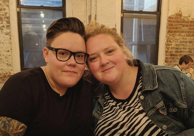 Debbie Lynch-White rend un vibrant hommage à sa femme pour son