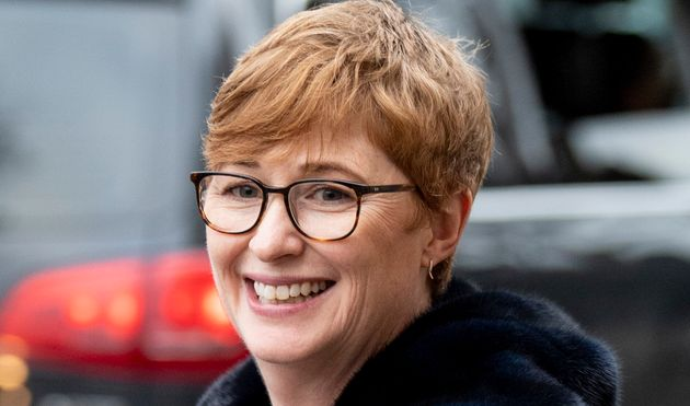 Sara Latham, ici le 7 janvier à Londres, est la directrice de communication du prince Harry et...