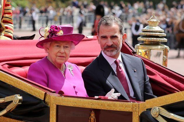 Isabel II y Felipe