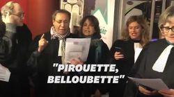 Les avocats protestent en chanson contre la réforme des