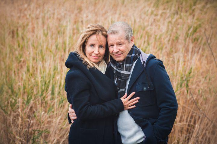 Lyne Gauthier et son conjoint Yves Dessureault