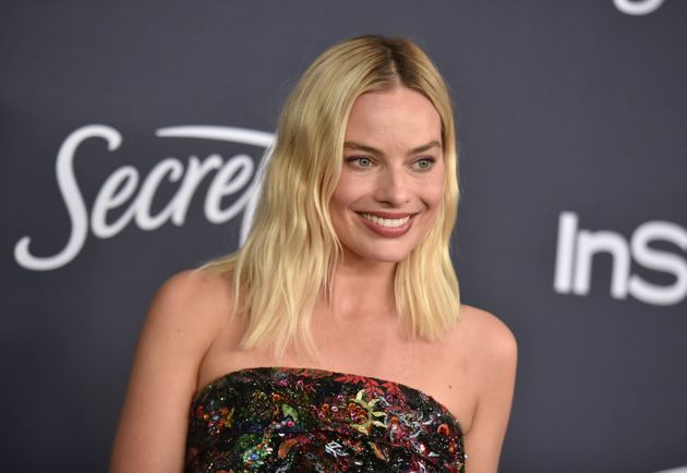 Margot Robbie arrives at the InStyle and Warner Bros. Golden Globes afterparty at the Beverly Hilton Hotel on Sunday, Jan. 5, 2020, in Beverly Hills, Calif. (Richard Shotwell/Invision/AP)
