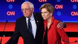 샌더스가 워렌에게 '여성 후보는 못 이긴다'고 말했다는 보도가