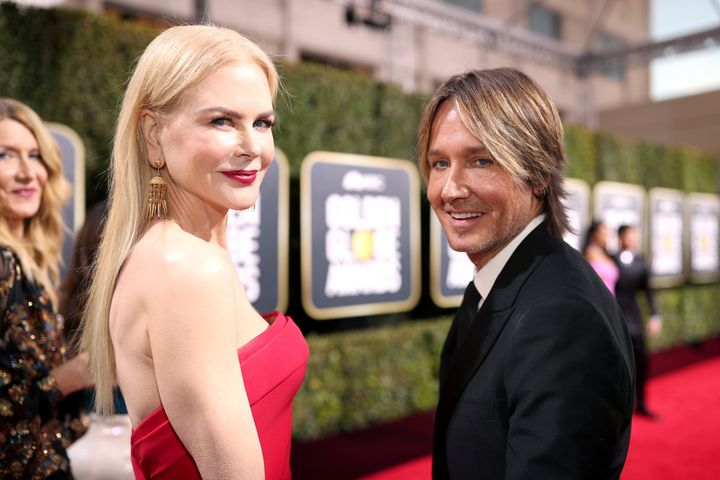 Actor Nicole Kidman and singer Keith Urbandonated $500,000 toward rural fire services.