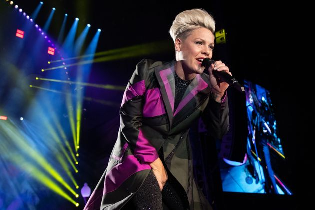 """My heart goes out to our friends and family in Oz,"" Pink wrote on"