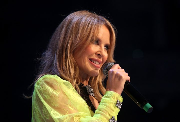 Kylie Minogue and her family donated $500,000 to firefighting efforts.