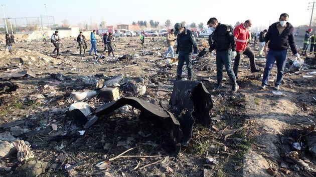 Avión ucraniano derribado por