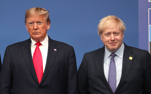 Boris Johnson Hits Back At Donald Trump Over Calls To Block Huawei From UK 5G Networks