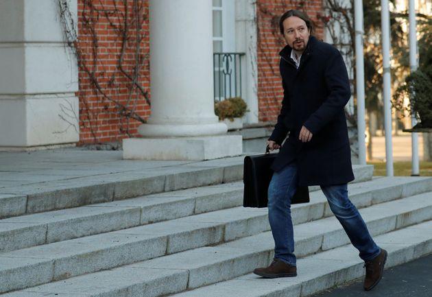 Pablo Iglesias, a su llegada a La