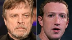 Mark Hamill Takes A Lightsaber To His Facebook Account And Mark