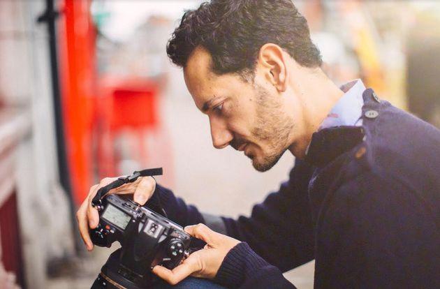 El fotógrafo Pedro