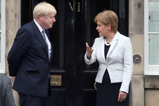 Scottish Independence Referendum Rejected By Boris Johnson