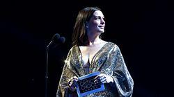 Mamma bis e più bella che mai: Anne Hathaway illumina il red carpet a un mese dal