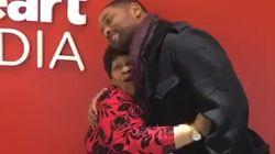 Will Smith sorprende a una recepcionista que conoció 30 años