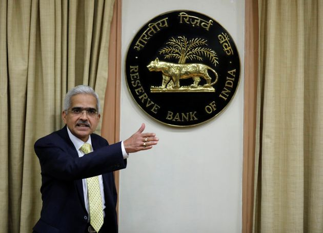 Shaktikanta Das, the Reserve Bank of India (RBI) Governor, at a news conference in Mumbai, December 12,