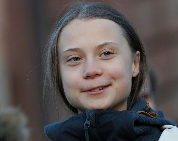 Greta Thunberg has had a salt truck named after her in Manchester, England.