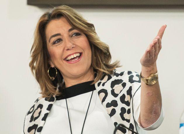 La secretaria general del PSOE de Andalucía, Susana