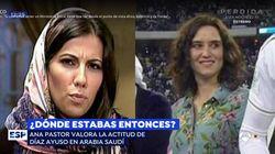Ana Pastor aclara por qué estas dos imágenes no se pueden