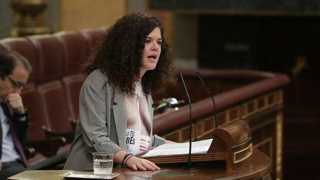 La secretaria de Feminismos y LGTBI de Podemos, Sofía