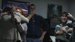 La emotiva reacción del equipo de 'Klaus' al concer su nominación al