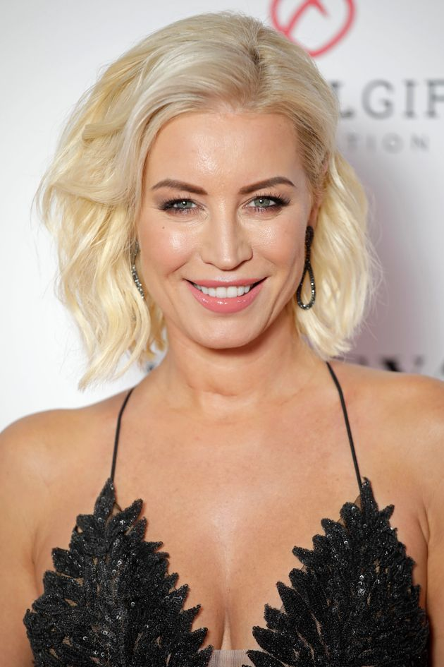 Denise Van Outen was revealed to be