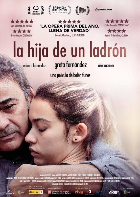 Cartel película ganadora Goya.