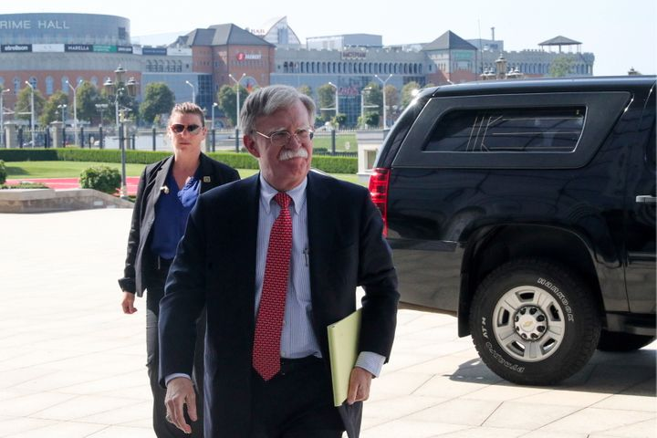 Former National Security Adviser John Bolton has said he would testify if subpoenaed by the Senate in the impeachment trial o
