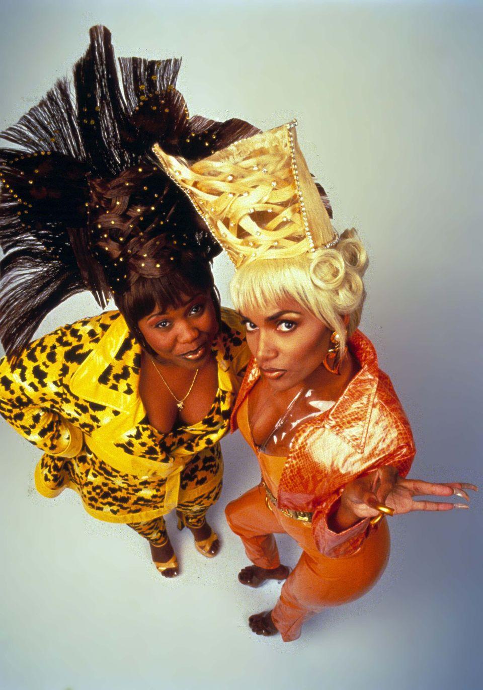 Natalie Desselle, izquierda, y Halle Berry protagonizaron en 1997