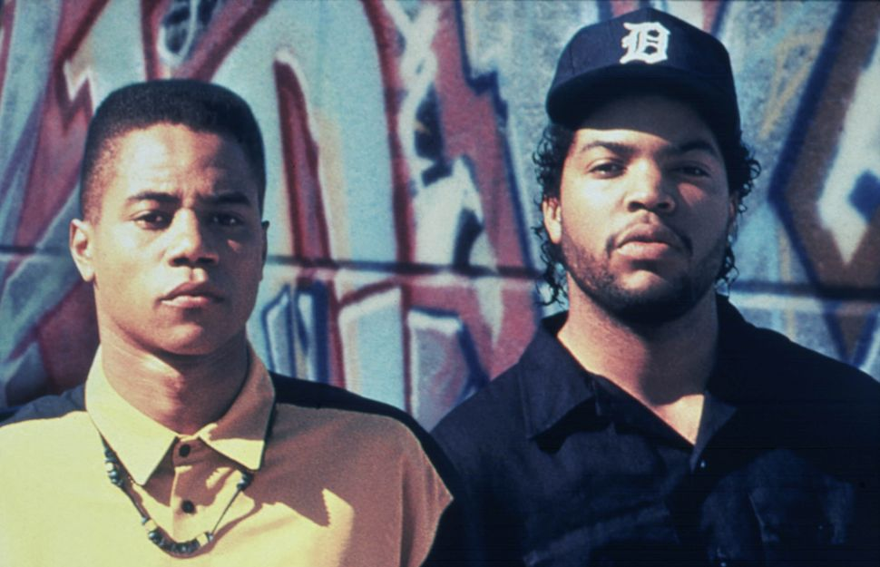 <strong></strong>Ice Cube and Cuba Gooding Jr. in &ldquo;Boyz N the Hood.&rdquo;