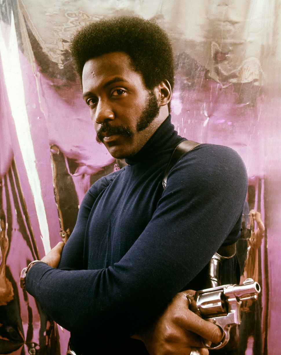 "Richard Roundtree in ""Shaft."""