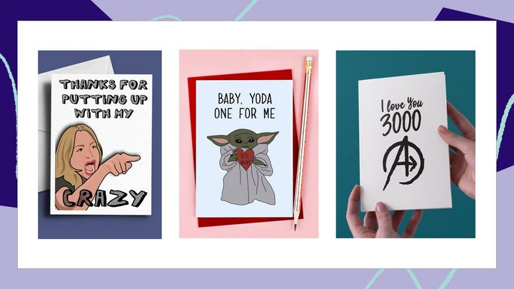 If you and your partner don't take Valentine's Day too seriously, these cards are for you.
