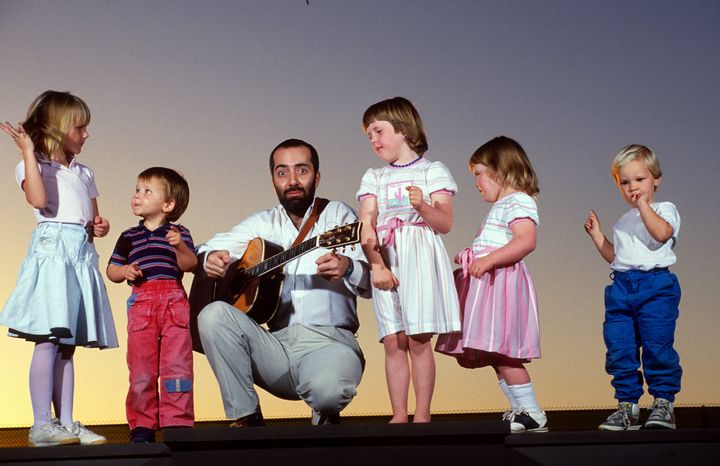 Raffi Cavoukian, better known as Raffi, is famous for being a children's singer-songwriter as well as a prolific author, essayist, and anti-war activist.