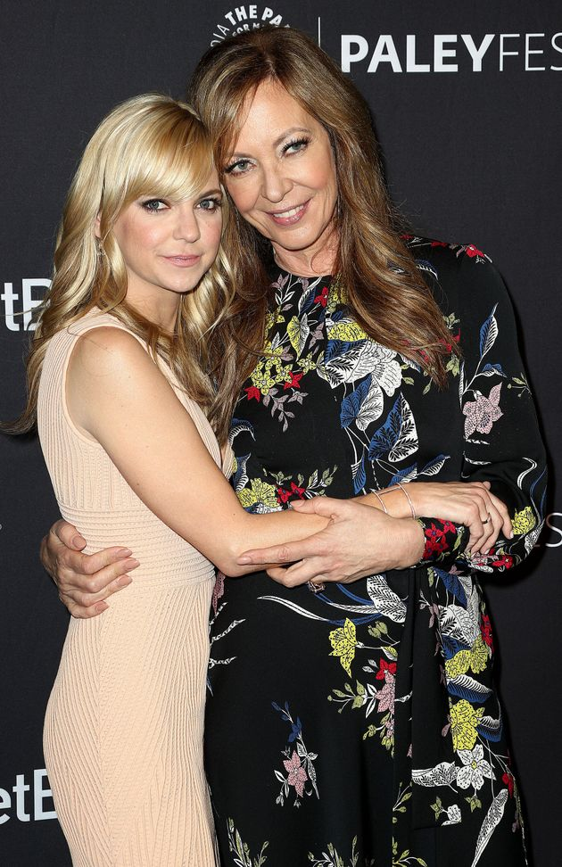 Anna Faris and Allison Janney attend the Paley Center for Media's 35th Annual PaleyFest Los Angeles on...