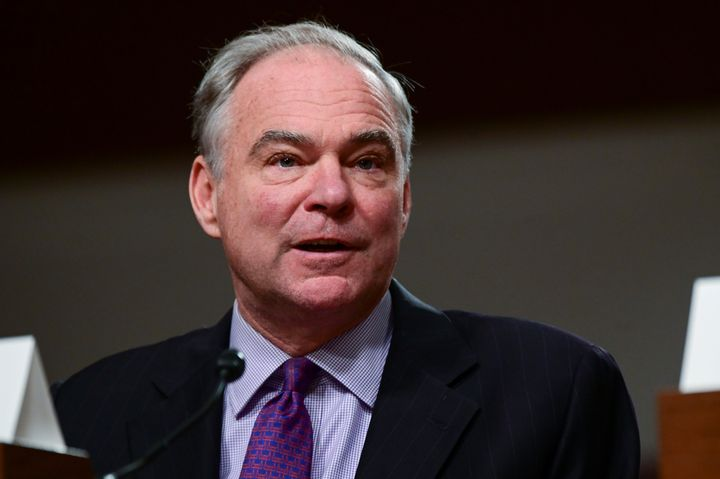 Sen. Tim Kaine said four Senate Republicans have committed to vote for a resolution limiting U.S. military action in Iran.