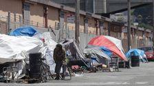 カリフォルニアの都市なの低減ホームレスが訴えられるので新たな提案