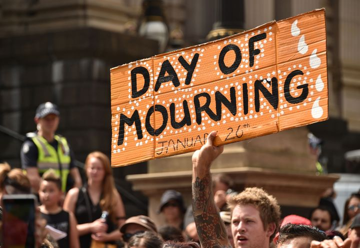"""Every year, thousands join Survival Day rallies to call for equal rights for Indigenous people and an end to the celebration of """"Australia Day"""" on Jan. 26."""