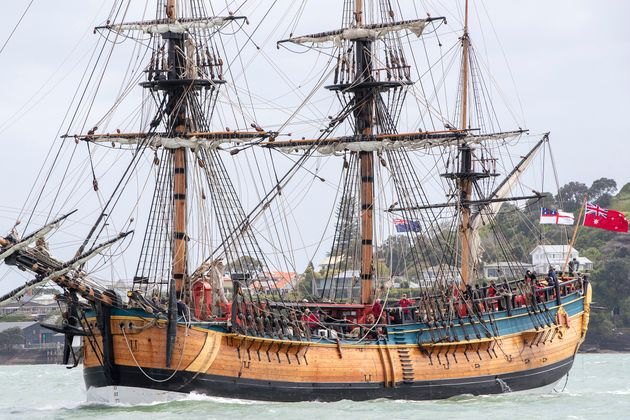 """Why are they sending a replica of the Endeavour to circumnavigate Australia when it never circumnavigated..."