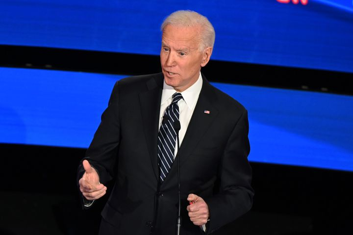 The debate moderators and most candidates declined to press former Vice President Joe Biden about the many controversial elements of his four-decade policy record.