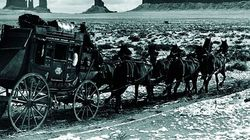 La ruta literaria de 'La diligencia', de John Ford, iniciada por Maupassant y convertida en un