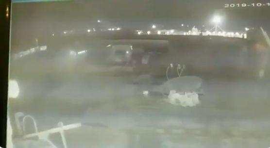 Une vidéo vérifiée par le New York Times montre deux missiles percuter le Boeing en