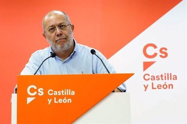 El vicepresidente de la Junta de Castilla y León, Francisco