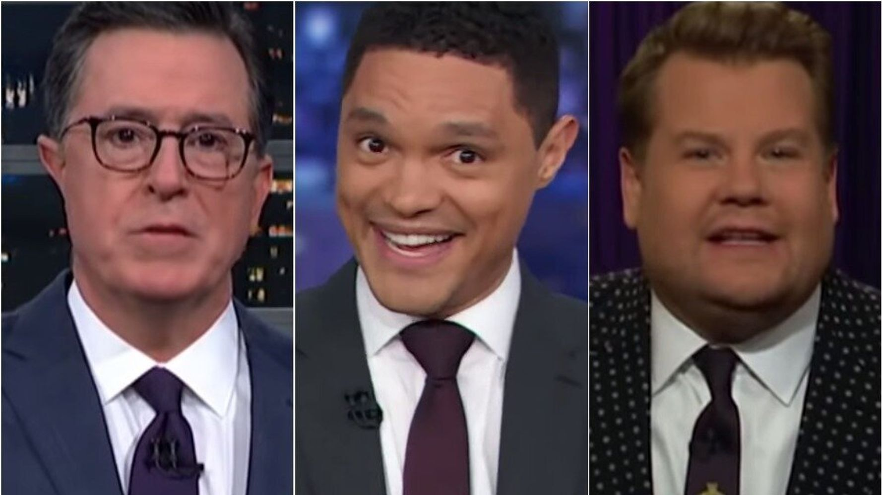 Westlake Legal Group 5e1ec8e124000033006c3c94 Late Night Hosts Rip Dem Debate's All-White Stage: Thought Oscars Was Next Month?