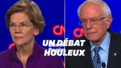 Sanders et Warren s'expliquent sur les chances de victoire d'une femme à la