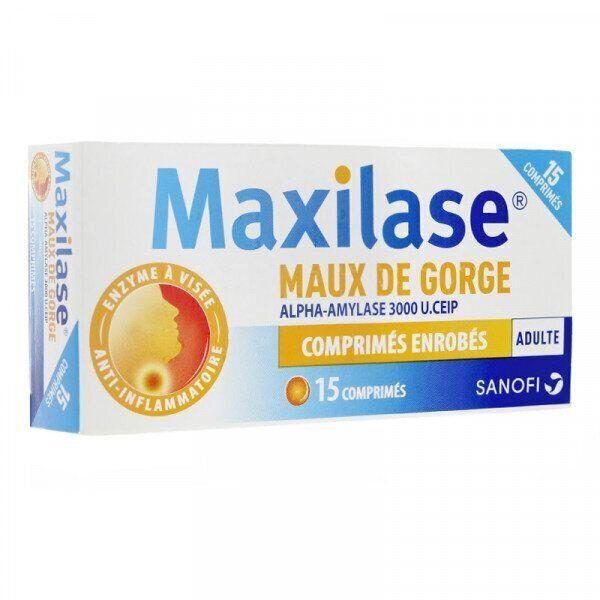 Les risques en ce qui concerne le Maxilase et autre comprimés semblables sont liés à de possibles réactions allergiques.