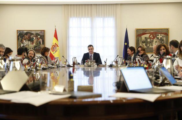 Pedro Sánchez preside el Consejo de