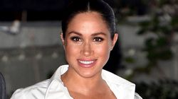 Meghan Markle Makes First Public Appearance Since Decision To 'Step Back' From